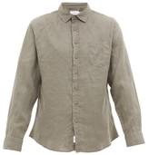 Onia - Abe Slubbed Linen Shirt - Mens - Khaki