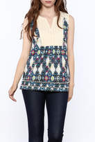 Jade Boho Sleeveless Top