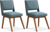 Boomerang Set of 2 Dining Chairs, Direct Ship