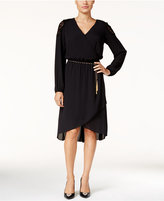 Thalia Sodi Lace-Trim High-Low Dress, Only at Macy's