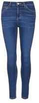 Topshop 'Jamie' high waist ankle grazer jeans