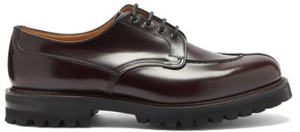 Church's Edgerton Polished-leather Derby Shoes - Burgundy