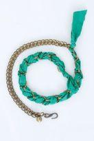 Lanvin Braided Chain/Ribbon Belt