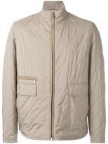 Loro Piana bristol jacket - men - Silk/Goat Skin/Polyester/Polyurethane - XL