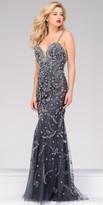 Jovani Sweetheart Beaded Tulle Prom Dress