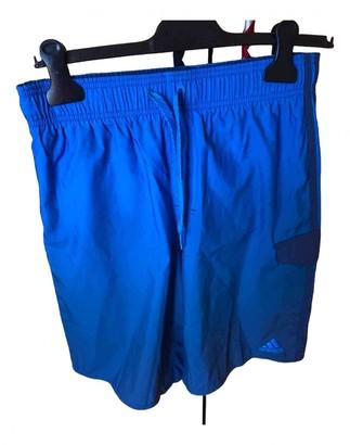 adidas Blue Polyester Swimwear