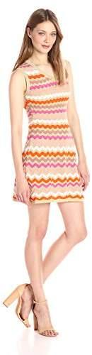 M Missoni Women's Ombre Zig Zag Sleeveless Dress