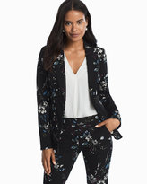 White House Black Market Floral Blazer Jacket