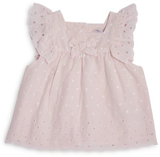 Patachou Broderie Dotted Dress