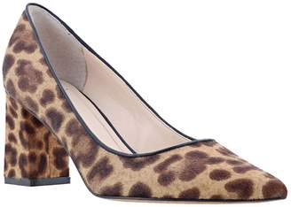 Marc Fisher Zalaly Cow Hair Leather Pumps
