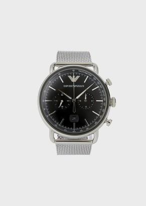 Emporio Armani Man Stainless Steel Cronograph