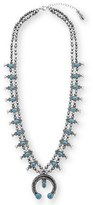 Steve Madden Women's Squash Blossom Pendant Necklace