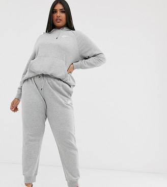 Nike plus grey essentials joggers