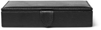 Wolf Blake Full-Grain Leather Cufflink Case - Men - Black
