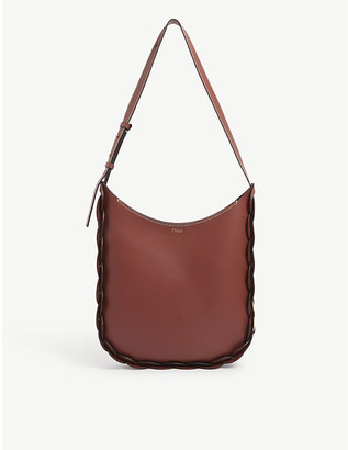Chloé Darryl large leather hobo bag