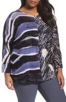 Nic+Zoe Plus Size Women's Sierra Sweater