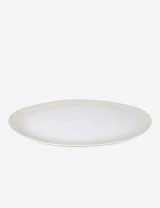 Lulu & Georgia Hawkins New York Organic Round Platter, White