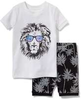 Old Navy 2-Piece Lion-Graphic Sleep Set for Toddler & Baby