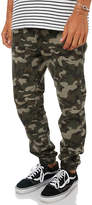 Swell Camo Mens Jogger Pant Green