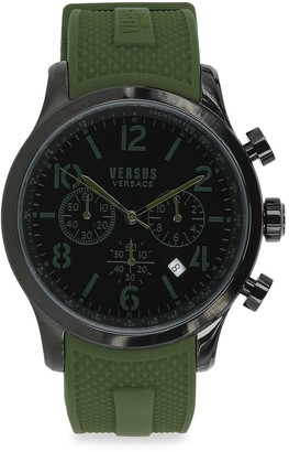 Versace Naboo IP Stainless Steel Chronograph Watch