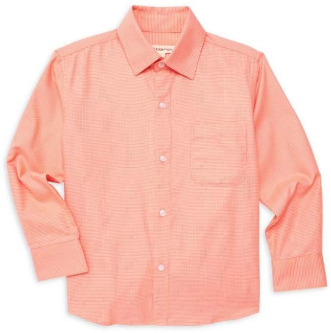 Appaman Little Boy's & Boy's The Standard Houndstooth Shirt