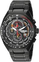 Titan Men's 'Octane' Quartz Metal and Ceramic Casual Watch, Color: (Model: 90048NM01)