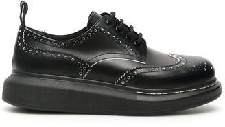Alexander McQueen Platform Brogues Lace-Up Shoes