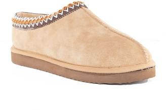 Nest Footwear Suede Slip-On Clog Slipper