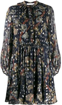 Chloé floral-print dress