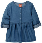 Joe Fresh Denim Tunic (Toddler & Little Girls)