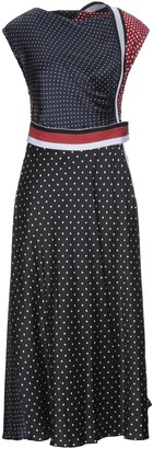 Sportmax 3/4 length dresses