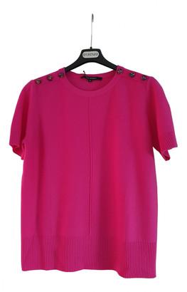 Tara Jarmon Pink Wool Knitwear