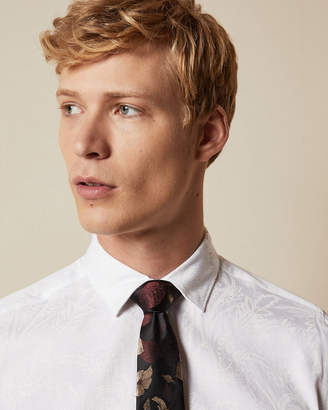 Ted Baker CAFE Cotton paisley print shirt