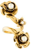 Erickson Beamon Floral Cocktail Ring