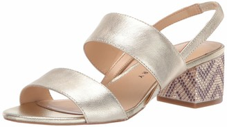 Katy Perry Women's The Annalie Heeled Sandal silver 5.5 M M US