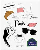 Rifle Paper Co. Rifle Paper Paris by Garance Dorà Poster - 28x35 cm