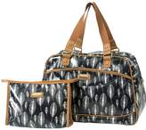 Kangol Holdall With Cosmetic Bag Set - Leaf Print