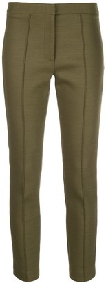 Adam Lippes Cropped Slim-Fit Trousers