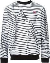 McQ by Alexander McQueen 'Swallow' striped sweatshirt - men - Cotton - M