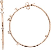 MATTIA CIELO Rugiada Diamond Hoop Earrings