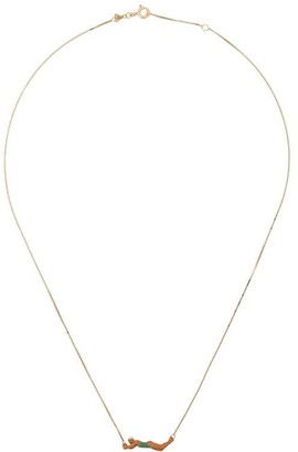 ALIITA 9kt gold Nadadora necklace
