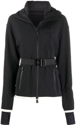 MONCLER GRENOBLE Belted-Waist Hooded Jacket