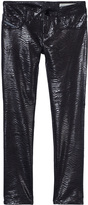 Diesel Black Patterned SpeedJegg Jeggings