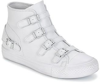 Ash VIRGIN women's Shoes (High-top Trainers) in Grey
