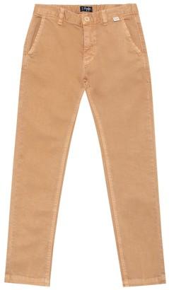 Il Gufo Stretch-cotton slim pants