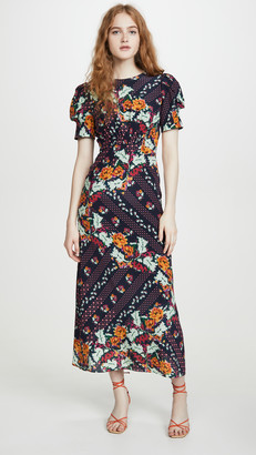 Saloni Bianca Dress