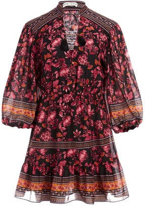 Alice + Olivia Sedona Mandarin Tunic Dress