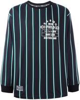 Kokon To Zai striped long sleeve T-shirt - men - Cotton - M
