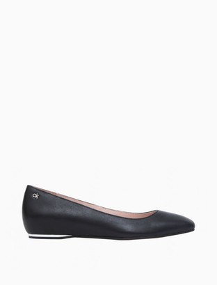 Calvin Klein Kosi Nappa Leather Flat