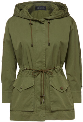 Mr & Mrs Italy Cotton-blend Hooded Parka